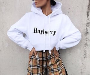 Burberry, fashion, and outfit image