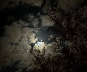 aesthetic, clouds, and Darkness image