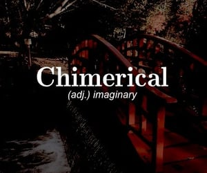 adjective, imaginary, and chimerical image