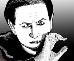artist, artista, and caricature image