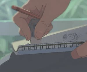aesthetic, draw, and anime image