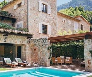 home, decor, and pool image