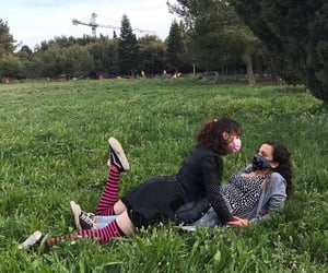 aesthetic, grass, and green image