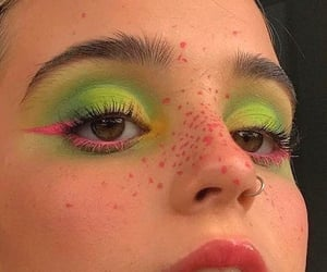 aesthetic, maquillaje, and makeup image