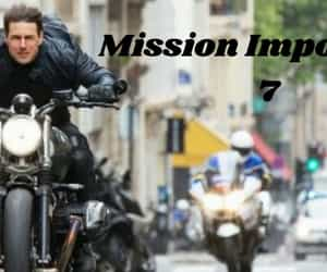 Tom Cruise and mission impossible 7 image