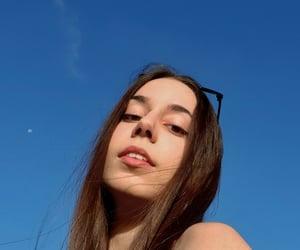 sunnyday, blue, and skies image