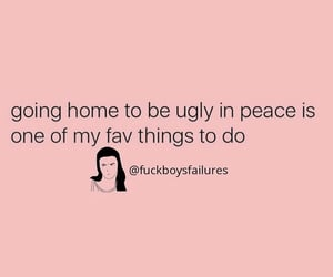 funny, ugly, and peace image