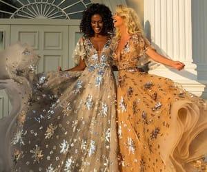 dress, dresses, and pretty image