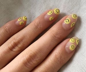 nails, fashion, and hands image