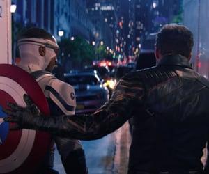 captain america, falcon, and Marvel image