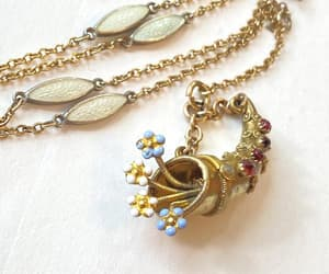 victorian necklace, vintage necklace, and etsy image