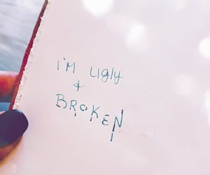 broken, lost, and quote image