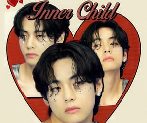 aesthetic, army, and taehyung icon image