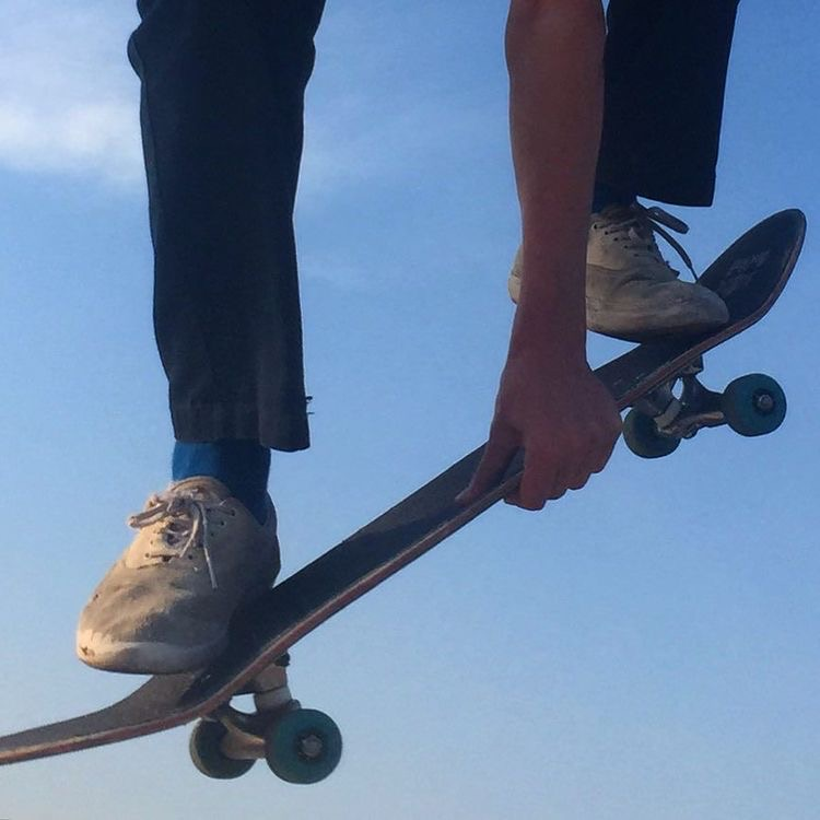 aesthetic, skate, and blue image
