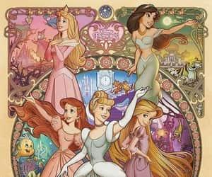 princess, disney, and ariel image