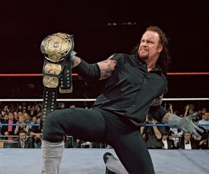 wwe, wrestling, and the undertaker image