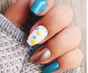 2016, lemon, and nail image