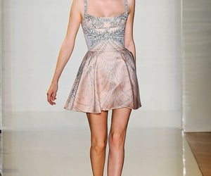 Couture, fashion show, and mini dress image
