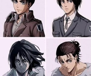 anime, fanart, and attack on titan image