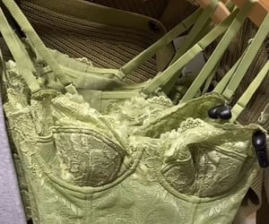 green, fashion, and lingerie image