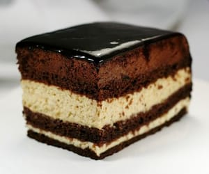 dessert, chocolate, and seven veils cake image