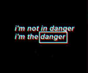 anxiety, dangerous, and grunge image