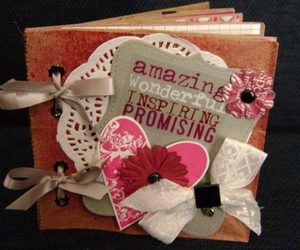blossom, grey, and bow image