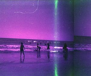 purple and beach image