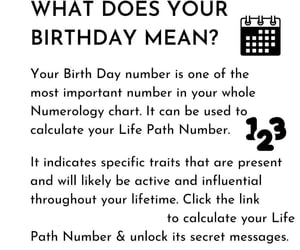 article, numerology, and subconsciousmind image