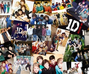 onedirection and onedirectioncollage image