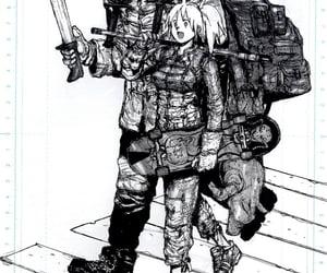 dorohedoro, manga panels, and nikaido image