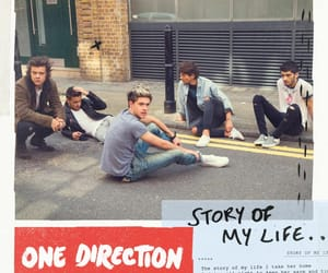 story of my life, 1d, and album cover image