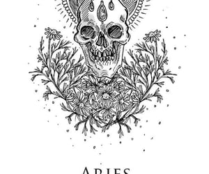aries, sign, and fire image