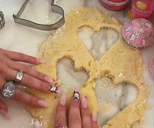baking, nails, and cooking image