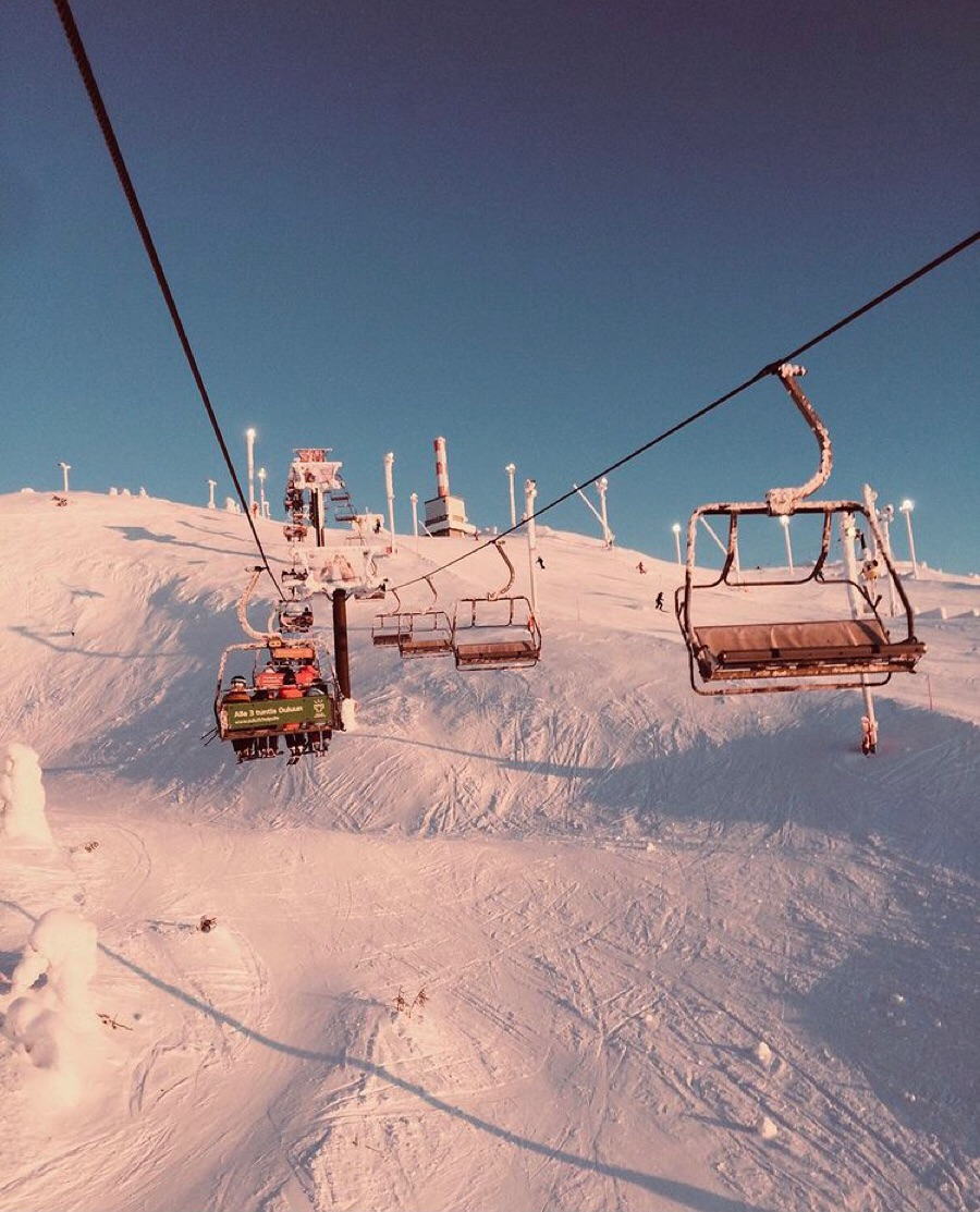finland, Skiing, and snow image