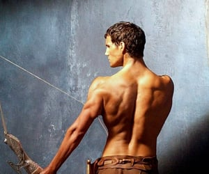 back, muscle, and theseus image