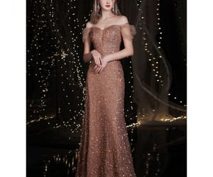 backless, evening party, and mermaid image