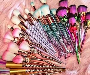 Brushes, makeup, and makeupbrushes image