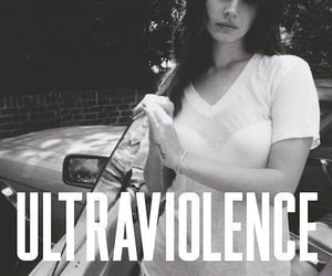 album cover, ultraviolence, and lana del rey image