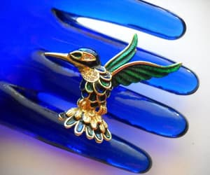 etsy, vintage jewelry, and brooch enamel image