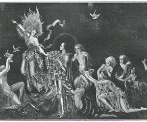fantasy art, goddess, and art deco image