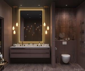 bathroom, rich, and design image