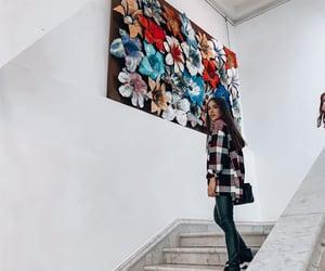 art, girl, and women image