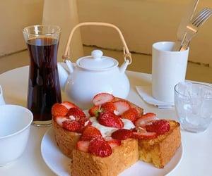 black coffee, french toast, and korea image