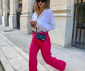 blogger, fashion, and pink pants image