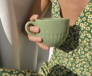 green, dress, and aesthetic image