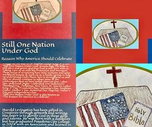 america, bible, and holidays image
