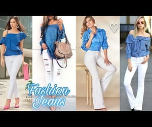 denim, outfits, and white image