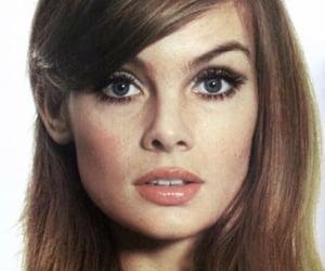 beauty, jean shrimpton, and makeup image