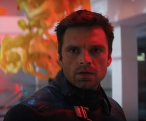 sebastian stan, bucky barnes, and the winter soldier image